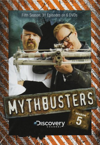 Mythbusters series tv tropes on the season 5 dvd features adam doing this with his homemade paper crossbow malvernweather Images