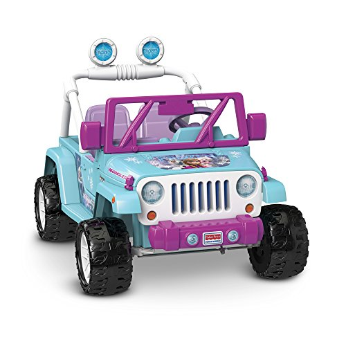 Power Wheels Disney Frozen Jeep Wrangler JungleDealsBlog.com