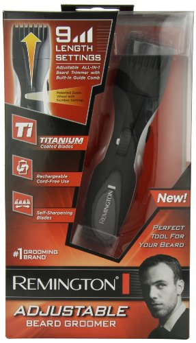 remington mb 200 titanium mustache and beard trimmer. Black Bedroom Furniture Sets. Home Design Ideas