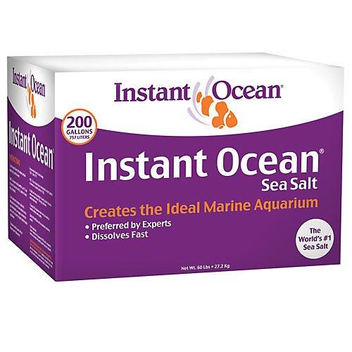 Instant Ocean Sea Salt 200 gal Box