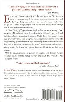 ronald wright a short history of progress pdf