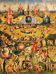 12X16 inch Hieronymus Bosch Canvas Art Garden of Earthly Delights