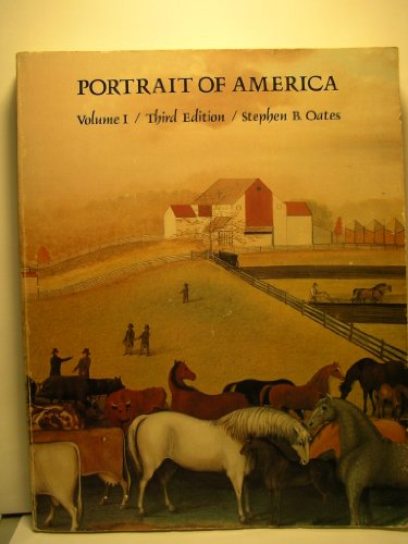 Portrait of America, Vol. 1: From the European Discovery to the End of Reconstruction