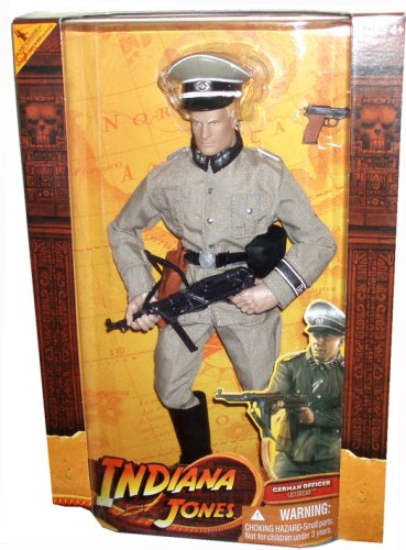 Indiana Jones The Last Crusade Movie Series 12 Inch Tall Action Figure - German Soldier in...
