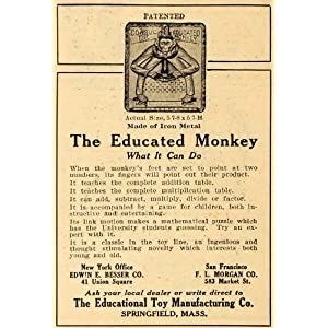 an educated monkey