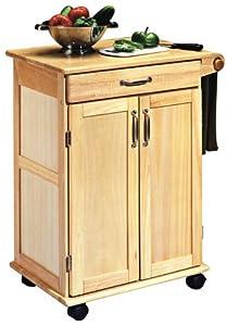 Amazon.com - Home Styles 5040-95 Paneled Door Kitchen Cart