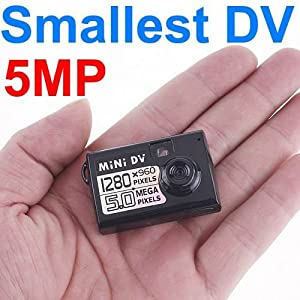 5MP HD Smallest Mini DV Spy Camera Video Recorder Hidden Cam DV DVR With 1280 x 960 Resolution