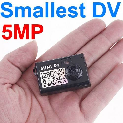 Best Spy Tech - 5MP HD Miniature DV Spy Digital Camera Video Recorder Camcorder Webcam DVR