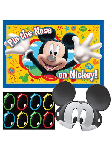 Mickey Mouse Party Game (Each)