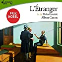 L'Étranger (       UNABRIDGED) by Albert Camus Narrated by Michael Lonsdale