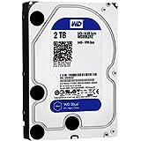 【Amazon.co.jp限定】WD HDD 内蔵ハードディスク 3.5インチ 2TB Blue WD20EZRZ/AFP / 5,400rpm / SATA3.0 / 2年6ヶ月保証