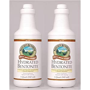 Naturessunshine Bentonite Hydrated Intestinal System Support 32 fl. oz (Pack of 2)