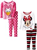 Disney Little Girls'  Minnie And Daisy Long Sleeve 2 Piece Set