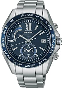 SEIKO BRIGHTZ Solar Radio Titanium Blue Dial Men's watch SAGA095 [Japan Import]