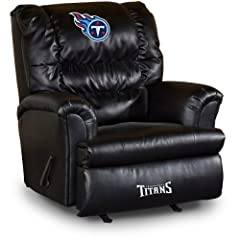 Buy NFL Tennessee Titans Big Daddy Leather Recliner by Imperial