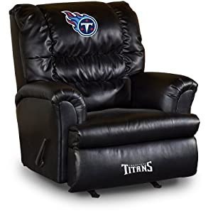 NFL Tennessee Titans Big Daddy Leather Recliner by Imperial