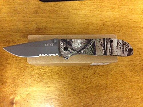 CRKT 6460RT Drifter Real Tree Combo Blade
