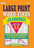 Jumbo Large Print Word Find Puzzle Book-Vol.53
