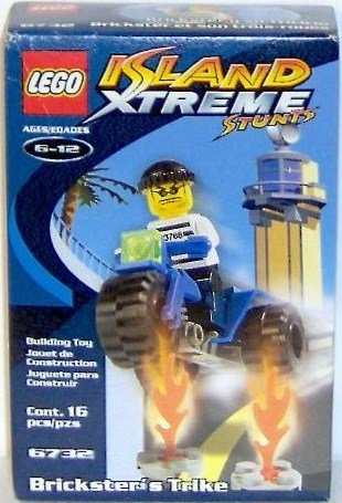 LEGO Island Xtreme Stunts 6732 Brickster's Trike - 1