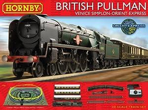 Hornby R1162 British Pullman Venice Simplon-Orient-Express 00 Gauge Electric Train Set