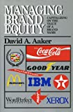 img - for Managing Brand Equity book / textbook / text book