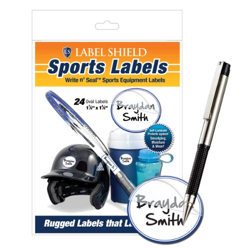 Sporting Goods Equipment ~ Sports equipment name labels oval quot sporting goods
