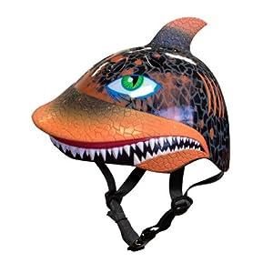 Raskullz Shark Attax Helmet, 5+ Years, Orange by Raskullz