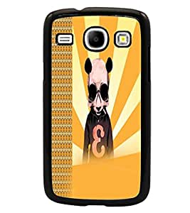 PrintDhaba Cartoon D-2923 Back Case Cover for SAMSUNG GALAXY CORE i8262 (Multi-Coloured)