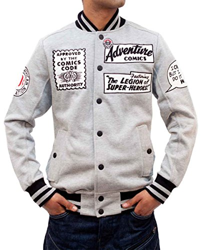 phat-farm-mens-comic-marvel-fleece-bomber-baseball-varsity-jacket-2xl-grey