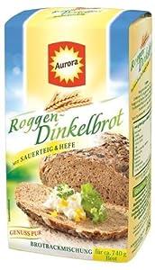 Aurora Roggen-Dinkel Brot, 6er Pack (6 x 500 g)