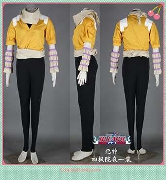 Bleach Shihouin Yoruichi outfit cosplay costume