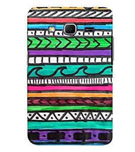 GADGET LOOKS PRINTED BACK COVER FOR SAMSUNG GALAXY CORE PRIME MULTICOLOUR