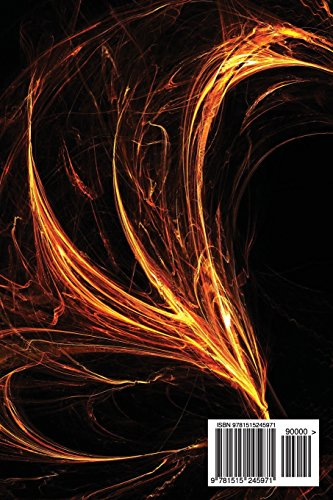 Journal Your Life's Journey: Fire Style Fractal Flames, Lined Journal, 6 x 9, 100 Pages