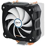 ARCTIC Freezer i30 - 320 Watt CPU Cooler for Intel - Interchangeable 120 mm PWM Fan - 4 Direct-Touch Heatpipes - High Performance MX-4 Thermal Compound included