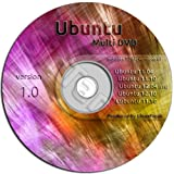 Ubuntu Linux Variety Pack on ONE DVD - Ubuntu 11.04, 11.10, 12.04, and 12.10 PLUS Lubuntu 11.10
