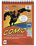 "Pacon Comic Sketch Book, 9""X12"", 40 Sheets"