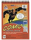 "Pacon Comic Sketch Book, 9""X12"", 40 Sheets"