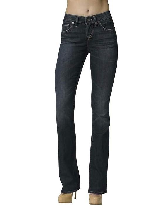 Silver Jeans Women's Natsuki Highrise Bootcut In Dark