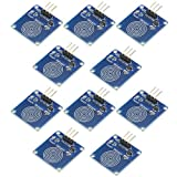 WMYCONGCONG 10 PCS TTP223B Digital Touch Capacitive Sensor Switch Module DIY for Arduino (10PCS) (Tamaño: 10PCS)