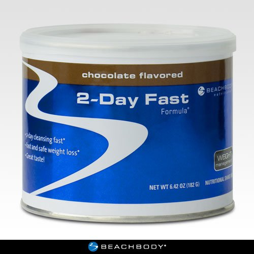 2-Day Fast Formula: Drop Up to 7 Pounds in 2 Days, Chocolate Flavor