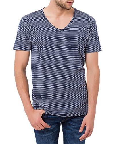 Cross Jeans T-Shirt Manica Corta [Blu]