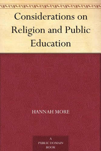 Considerations on Religion and Public Education PDF