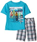 Nannette Boys 2-7 Two Piece Short Set
