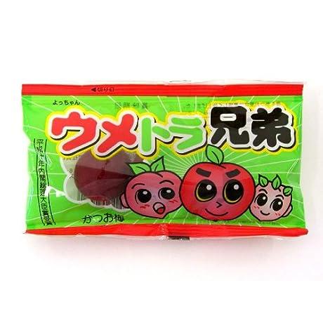 よっちゃん食品工業 ウメトラ兄弟 3個×20袋