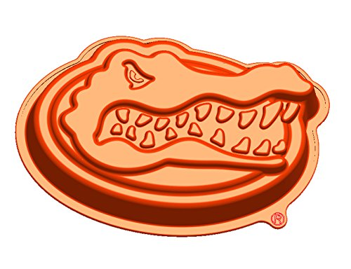 NCAA Florida Gators Head Cake Pan with Stand, One Size, Orange (Florida Gators Cake Pan compare prices)