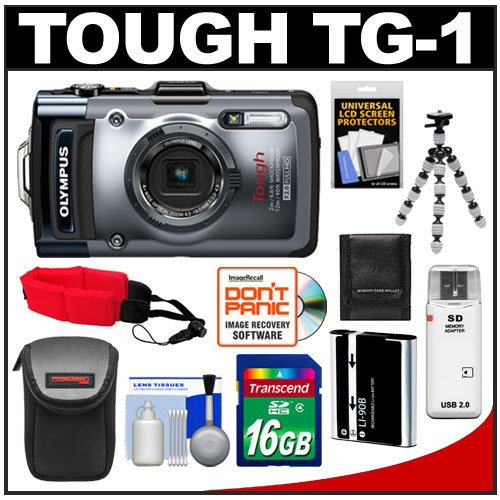 Olympus Tough TG-1 iHS Shock & Waterproof Digital