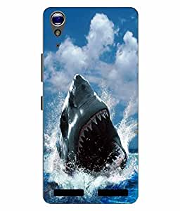 Make My Print Printed Back Cover For Lenovo A6000