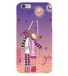 CUTE COUPLE Designer Back Case Cover for Apple Iphone 5