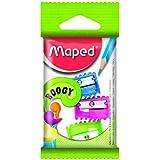 Maped Triple Lot de 1 Hole Boogy Stylo Taille-crayons dans Couleurs assorties (Simple Lot) 063210