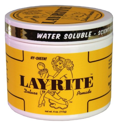 Layrite Deluxe Original Pomade 4 oz Personal